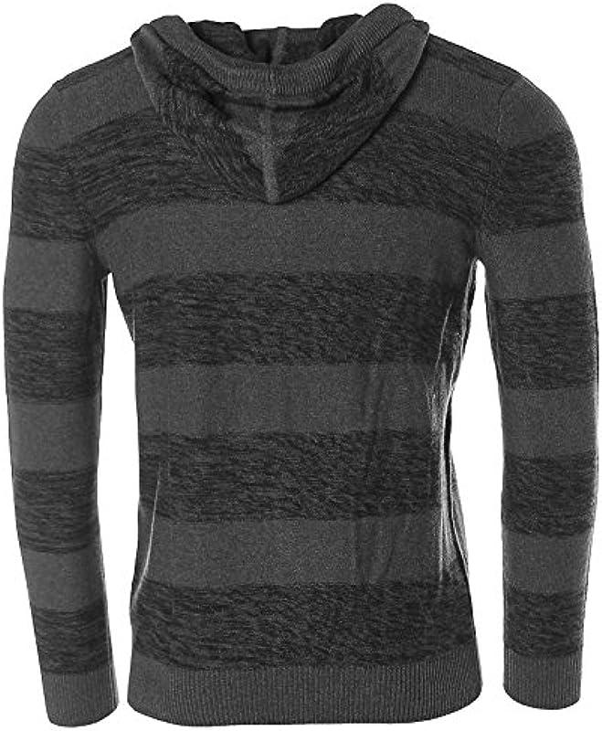 JOHN devin męski sweter z kapturem Hoodie: Odzież