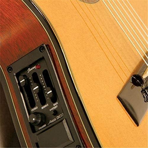 Ibanez GA5TCE-AM - Guitarra clásica (corte cutaway, plantilla bajo ...