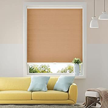 Cellular Shades Cordless Light Filtering Single Cell Window Shades Blinds  For Home Office 31u0026quot; X