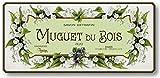 Item 726 Vintage Style French Muguet Soap Label Plaque