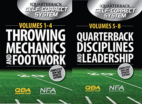 Quarterback Football Dvd (The Complete Quarterback Self- Correct System- Volumes 1-8)
