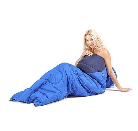 Hoverex-walking Senderismo Senderismo Saco Dormir Ultimate Comfort Ligero Grande Impermeable Cálido Con Almohada Bolsillo