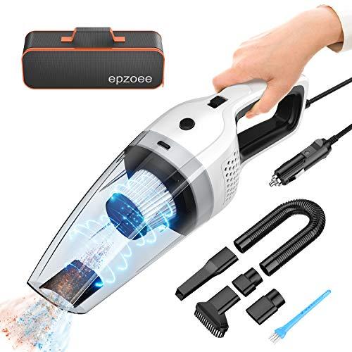 epzoee Car Vacuum, Portable Corded Car Vacuum Cleaner