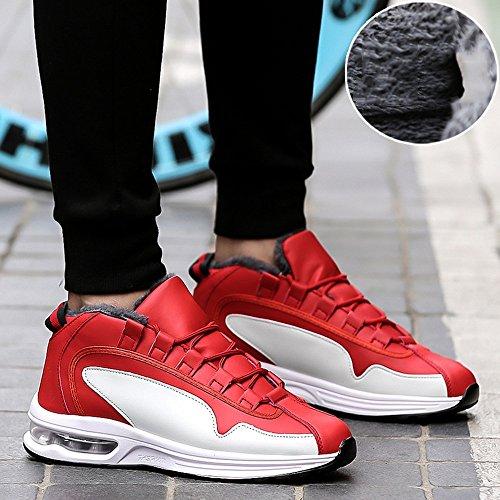 Le calzature sportive FEIFEI Scarpe da uomo Inverno Sport e tempo libero Mantieni caldo cotone scarpe 3 colori (taglia scelta multipla) (Colore : 02, dimensioni : EU39/UK6/CN39) 01