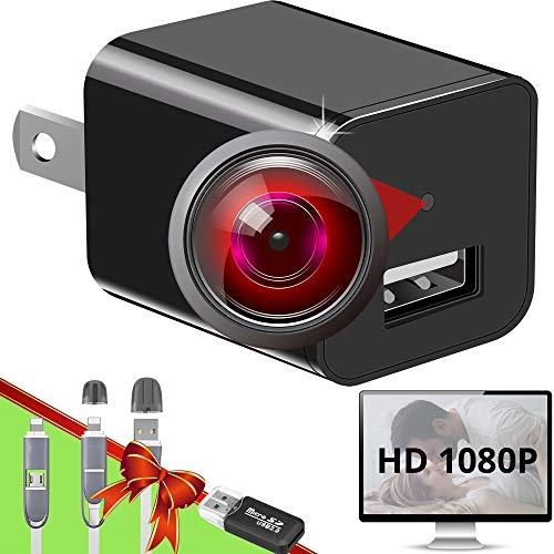 Spy Camera Charger – Hidden Camera – Premium Pack – HD 1080P – Best Spy Camera – USB Charger Camera – Hidden Spy Camera…