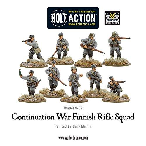 Amazon.com: Warlord Games – finlandés Infantry Juego de en ...