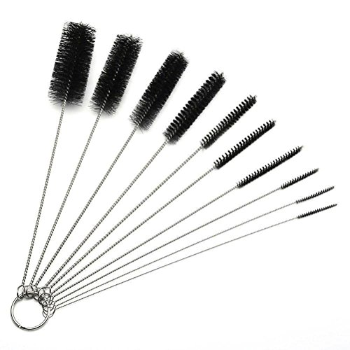 10Pcs Metal Cleaning Brush for Weed Pipe Clean Glass Hookah Smoking Brush baby Feeding Bottle Brush