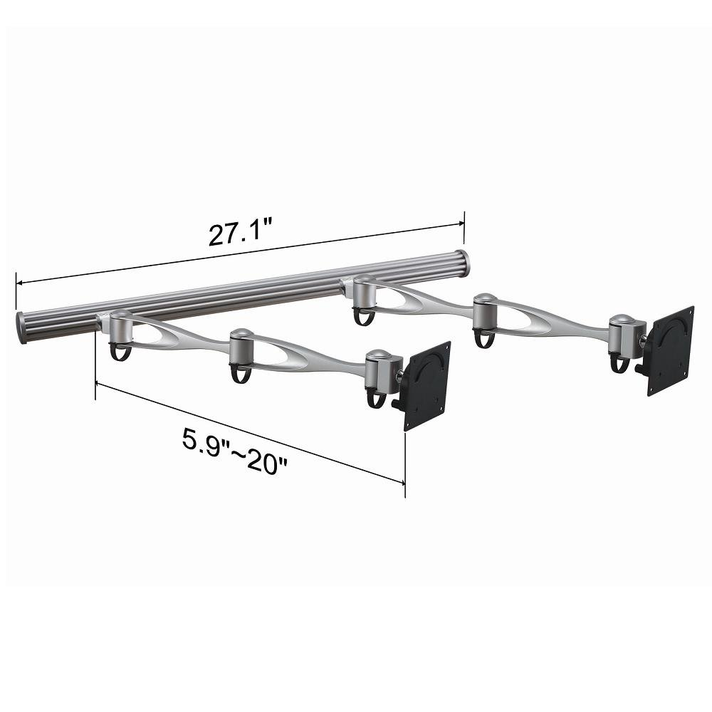 Cotytech Double Arm Wall Mount for Two Monitors (HMW-21A2)