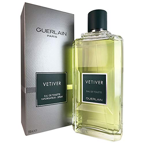 Guerlain Vetiver Eau De Toilette Spray for Men 200Ml/6.8Oz
