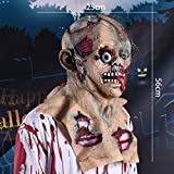 Shan-S Halloween Scary Mask,Silicone Monster Horror