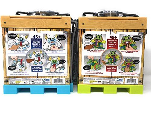 Crate Creatures set of 2, Sizzle and Blizz with FREE Crazy Aaron's Thinking Putty Mini by crate creatures (Image #5)