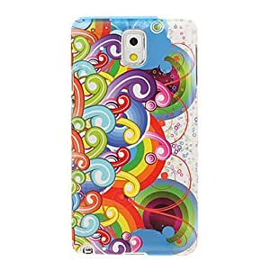 TOPAA Rainbow Bridges Drawing Pattern Plastic Hard Back Case Cover for Samsung Galaxy Note3 N9000