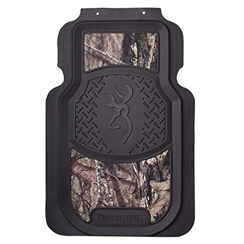 Browning Front Floor Mats | Mossy Oak Country Camo | 2 Pack