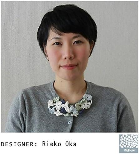 Rieko Oka ハンカチ 50×50cm リスノシグサ グリーン
