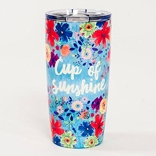 """'Natural Life WB006–Gobelet isotherme acier inoxydable Cup of Sunshine """""""