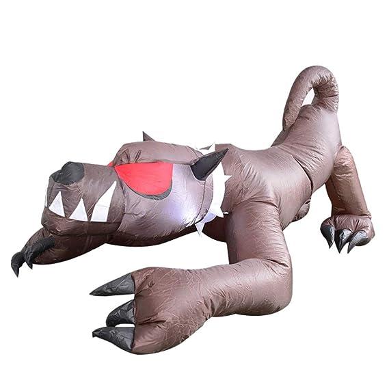 Amazon.com: ALEKO HLID060 - Perro hinchable de Halloween ...