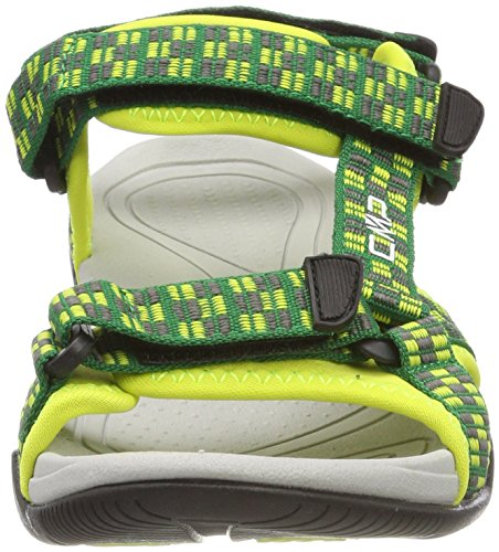 CMP Unisex-Kinder Hamal Trekking-& Wandersandalen Grün (Gecko)