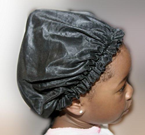 Sleep Hair Cap Satin Edge Cover Bonnet For Hair Beauty
