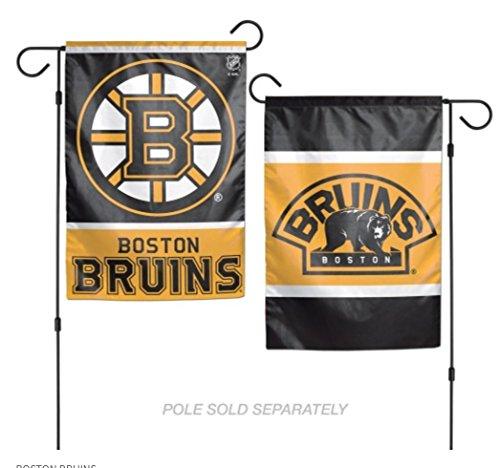 WinCraft NHL Boston Bruins 2-Sided Garden Flag, 12 x (Boston Garden Street Sign)