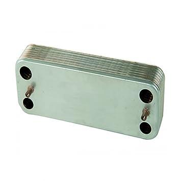 ZB 207/para calderas CHAFFOTEAUX Intercambiador saldobrasato zilmet 12/placas mod