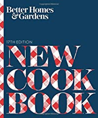 Since 1930, the Better Homes and Gardens New Cook Book has been a trusted staple in kitchens across America. The 17th edition is fully updated and revised to reflect both the best of today's food trends and time-tested classics. With m...
