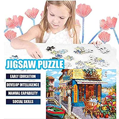 LLEYU Jigsaw Puzzle 1000 Piece Jigsaw Puzzles Intellectual Game Learning Education Decompression Toys for Adults Kids (818): Toys & Games