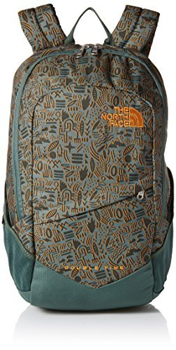The North Face Double Time Backpack Duck Green/Iconversational Print OS [並行輸入品] B07F4R7RLB