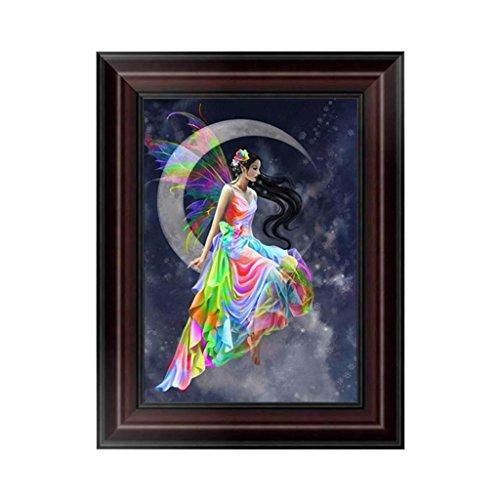 Fang sky DIY 5D Beauty Diamond Embroidery Painting Cross Stitch Art Craft Wall Decor