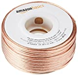AmazonBasics 16-Gauge Speaker Wire Cable - 100 Feet, 4-Pack
