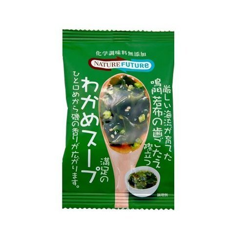 Cosmos food Nature Future seaweed soup 6.8g by Co., Ltd. Cosmos food