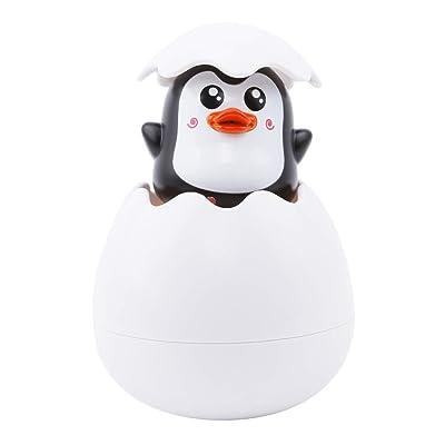 LALANG Children Duck Penguin Egg Style Sprinkling Water Bath Toy(Penguin): Toys & Games
