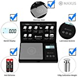 MAXUS Elite Plus Precision Gram Scale 200g x 0.01g