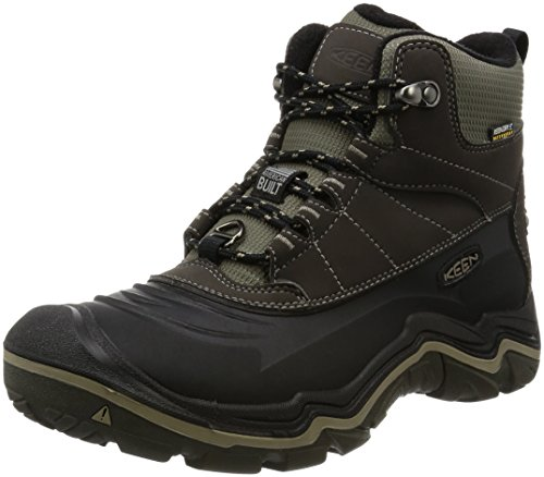 Durand Polar M Olive Shell US 12 Black Shoe Brindle KEEN Men's 57EqxEUp