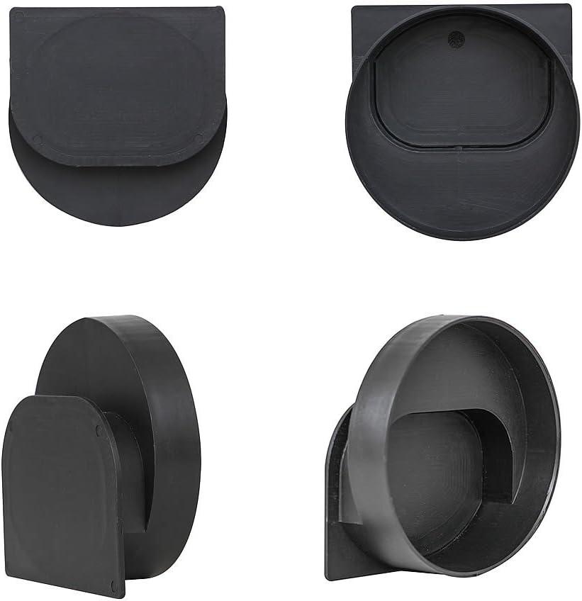 1 Meter Melko/® Entw/ässerungsrinne Entw/ässerungskanal B125 Adapter f/ür DN110 passend f/ür DN75 und inkl Gussrost