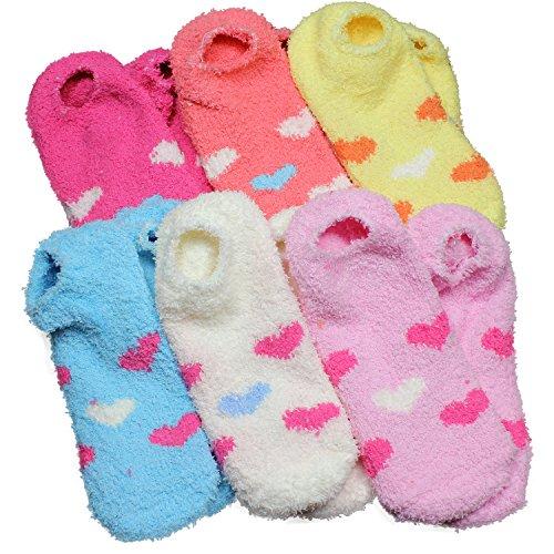 No Show Fuzzy Socks Pack