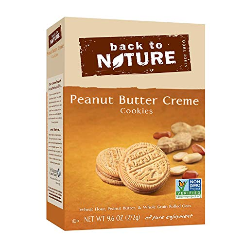 Back to Nature NonGMO Peanut Butter Creme Cookies 96 Ounce
