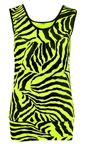 Zebra Print Sleeveless Dress - 1