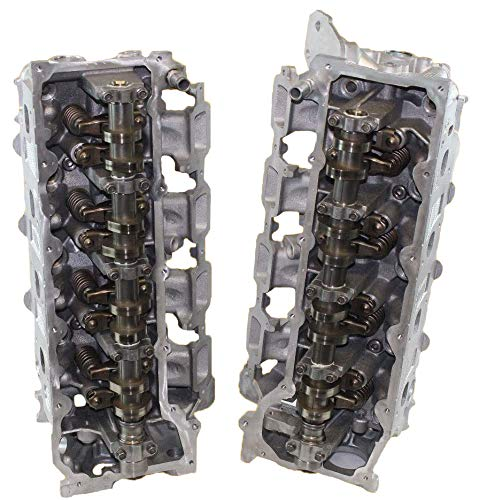Remanufactured Cylinder Head - ADV Cylinder Heads Remanufactured Replacement for Chrysler Dodge Jeep Grand Cherokee Dakota 4.7 SOHC Cylinder Heads 1999-2007NON-EGR