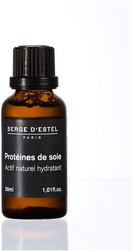 Proteína de seda 30ml Cuidado natural Cosmética activa para el hogar Preparación Hidratante Suavizante Desenredante Brillo