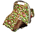 Baby Car Seat Covers: Carseat Canopy By Baxter Baby Gear - Car Seat Covers Baby Will Love! Minky Cloth Baby Car Seat Covers For Boys. Camo Car Seat Covers / Infant Car Seat Cover Camo w/ Velcro Straps