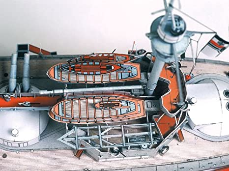 Amazon.com: HMV 3040 papermodel barco de la línea SMS ...
