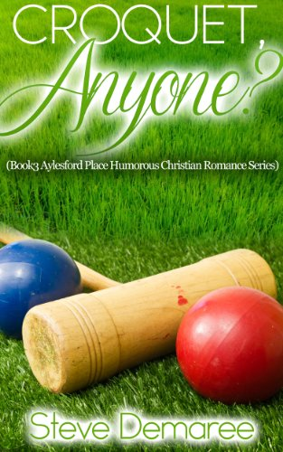 book cover of Croquet, Anyone?