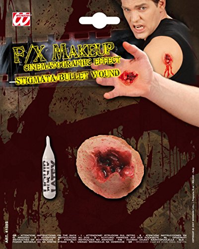 Sfx Stigmata / Bulletwound Bullets Novelty Toy Weapons & Armour For Fancy Dress