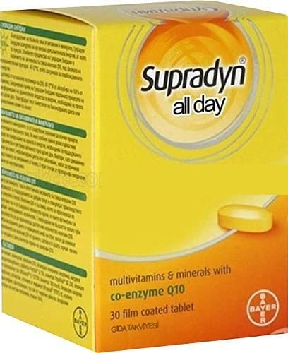Supradyn All Day Multivitamin-Mineral 30 Pills