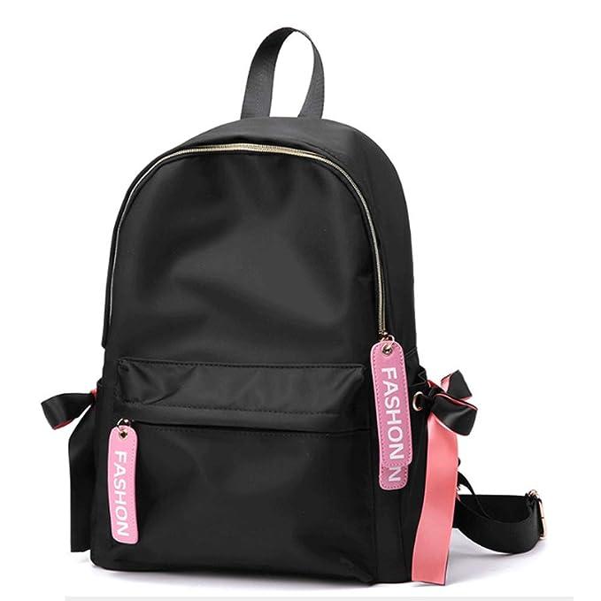 Mochila rosa Mochila niña mochila escolar de gran capacidad estudiante mochila rosa: Amazon.es: Ropa y accesorios