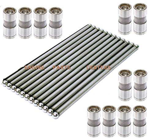 Jeep 4.0 242ci Hydraulic Lifters & Push Rods Complete Set of 12 1987-2006 (Lifters & Pushrods) ()