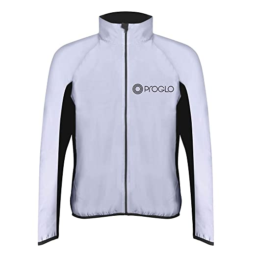 Proglo Reflective Jacket Mens At Amazon Men S Clothing Store