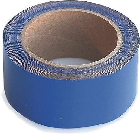 WUPSI Cinta adhesiva especial para la reparación de láminas y lonas, extraordinaria fuerza antidesgarre, increíble potencia adhesiva. Azul, 5 Cm X 5 M