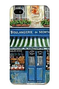 BQeNff-3320-ipvUR Boulangerie De Montmartre Fashion Tpu Case Cover For Iphone 4/4s, Series
