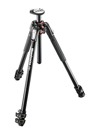 Manfrotto MT190XPRO3 3 Section Aluminum Tripod Legs with Q90 Column (Black) Tripod Legs at amazon